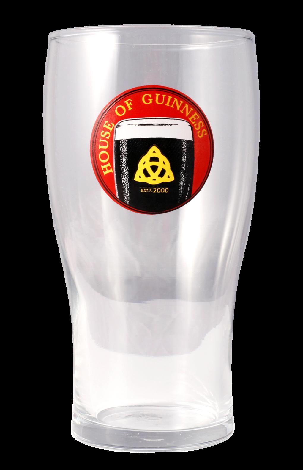 House of Guinness Pint Glass