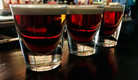 Irish Coffee Shots